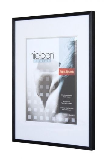 Nielsen Metallrahmen C2 30x40 cm struktur schwarz 63053