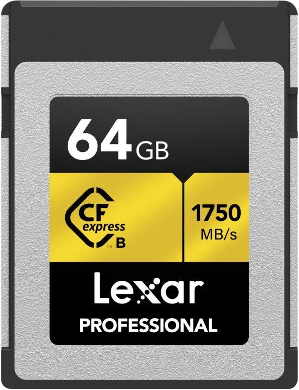 Lexar CFexpress Type-B 64GB LCFX10-64CRB