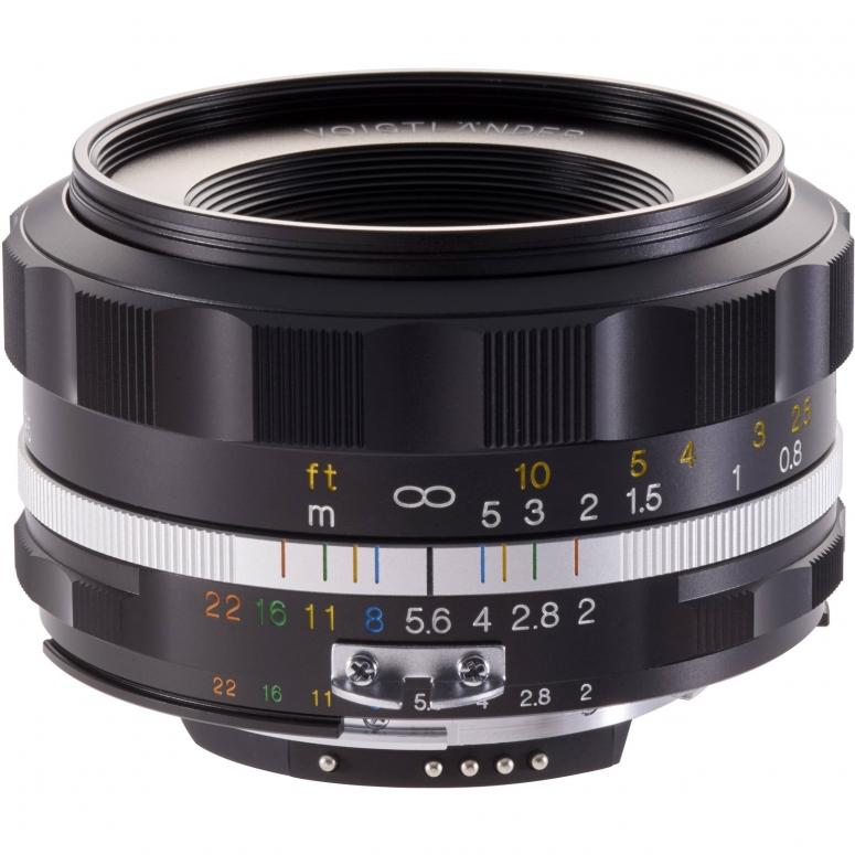 Voigtländer Ultron 40 mm F2,0 silber asph SLII-S Nikon