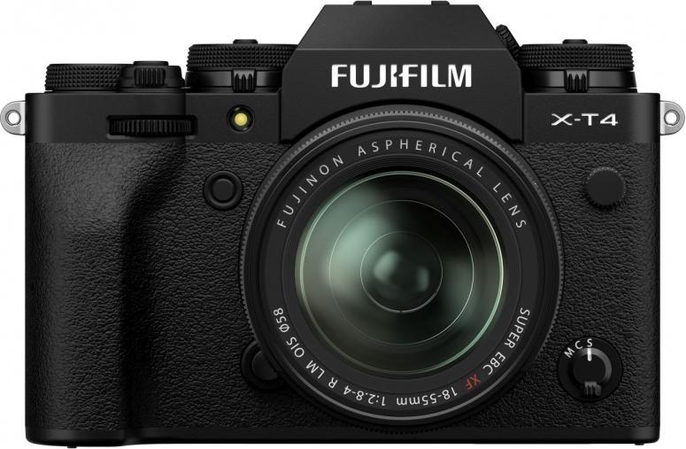 Fujifilm X-T4 + XF18-55mm f2,8-4 R LM OIS schwarz