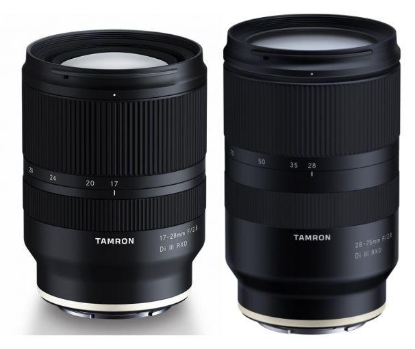 Tamron 17-28mm f2,8 Di III RXD + 28-75mm f2,8 Di III RXD Sony E-Mount
