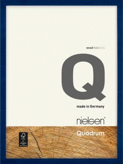 Nielsen Holzrahmen 6532012 Quadrum 13x18cm blau