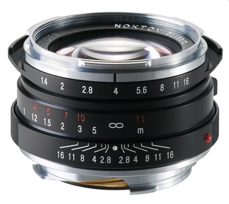 Voigtländer Nokton 40mm f1,4 VM-Bajonett