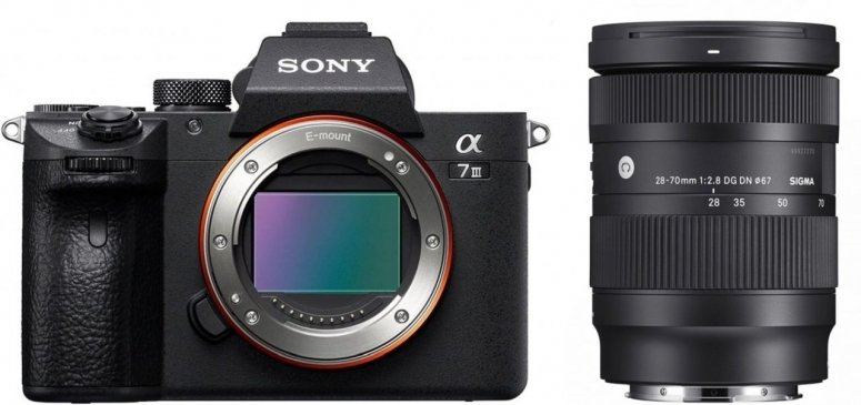 Sony Alpha ILCE-7 III (ILCE7M3B) + Sigma 28-70mm f2,8 DG DN (C) Sony-E