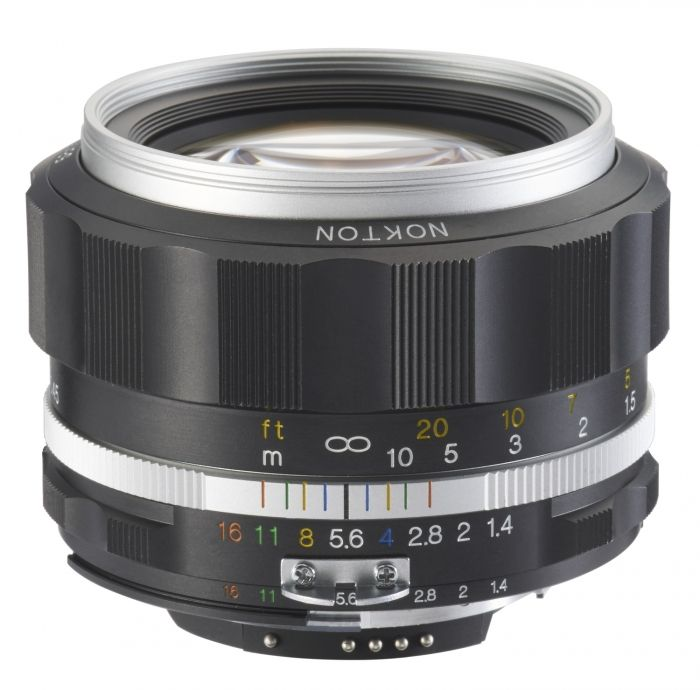 Voigtländer Nokton 1,4/58 SLII-S silber Nikon AI-S