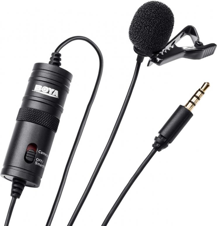 BOYA BY-M1 Lavalier-Mikrofon