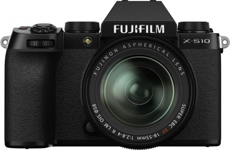 Fujifilm X-S10 + XF 18-55mm f2,8-4 Kit