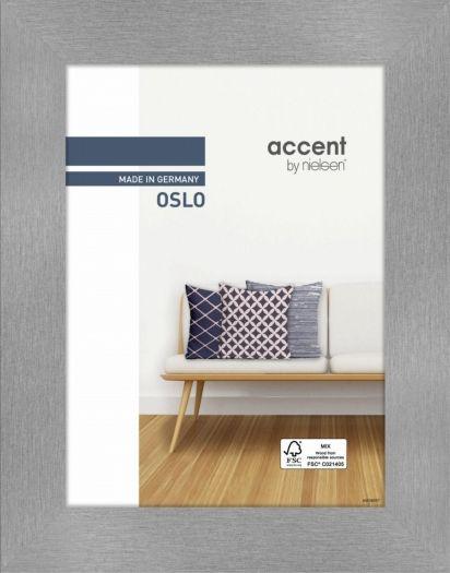 Nielsen Holzrahmen 299276 Oslo 18x24cm silber