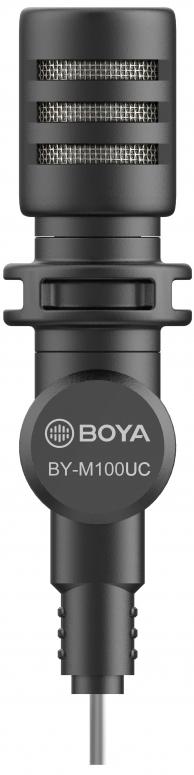Boya BY-M100UC Omni-direktionales Mikrofon für USB Type-C