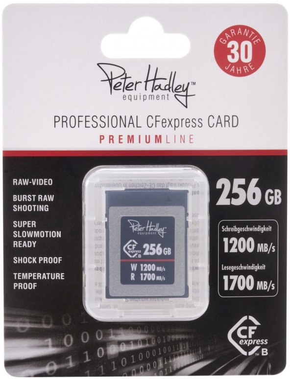 Peter Hadley CFexpress Professional 256GB 1700/1200 MB/s