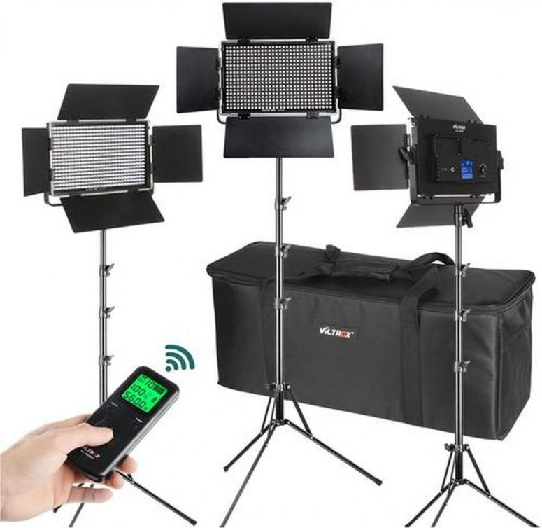 Viltrox VL-40T LED Light Triple Kit
