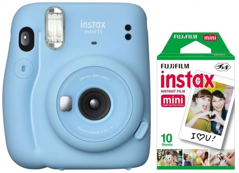 Fujifilm Instax Mini 11 sky blue + Mini Film EP