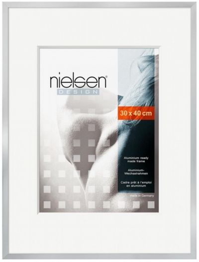 Nielsen 63071 C2 Metallrahmen 30x40cm silber