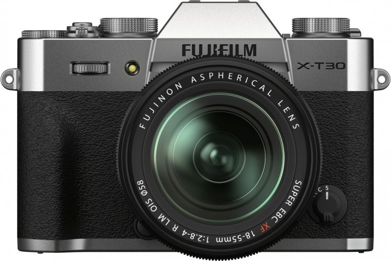 Fujifilm X-T30 II silber + XF 18-55mm