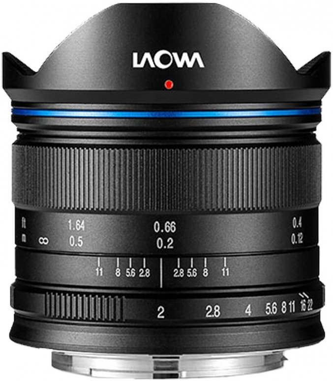 LAOWA 7,5mm f2 für MFT schwarz