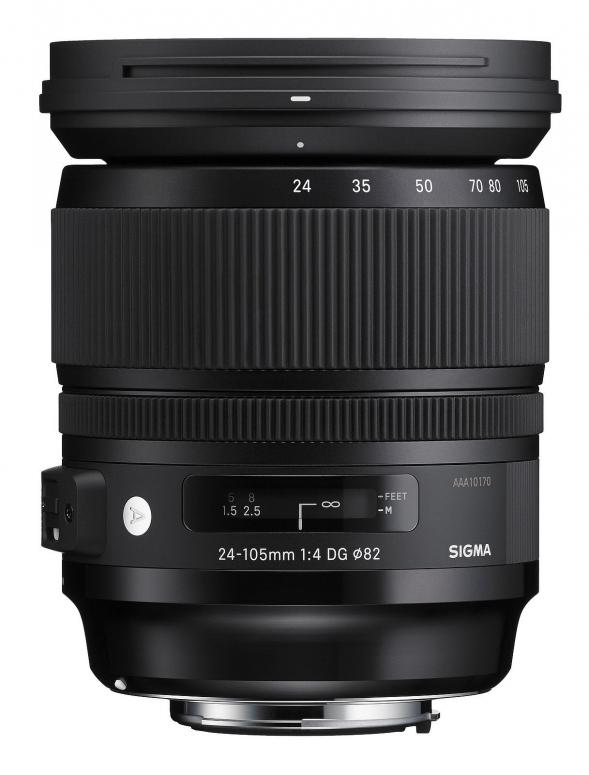 Sigma 24-105mm 1:4 DG OS HSM Nikon