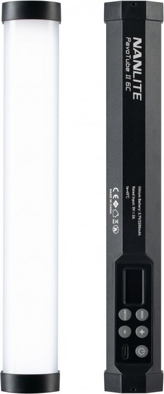 NANLITE Farb-Effektleuchte PavoTube II 6C RGB