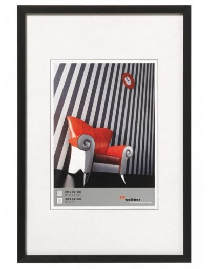 Walther AJ050B Aluminiumrahmen Chair 40x50cm schwarz