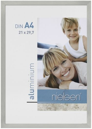 Nielsen Metallrahmen C2 21x30 cm silber matt 62164