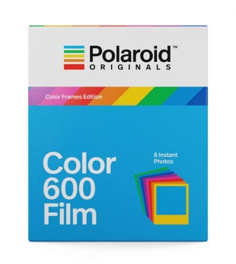 Polaroid Color Film 600 farbige Rahmen 8 Aufnahmen