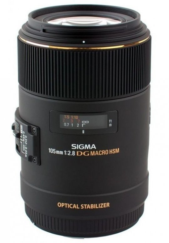 Sigma 105mm 1:2,8 EX Macro DG OS HSM Canon