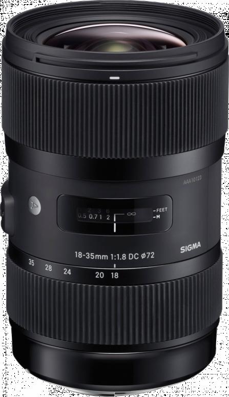Sigma 18-35mm 1:1,8 DC HSM Canon AF