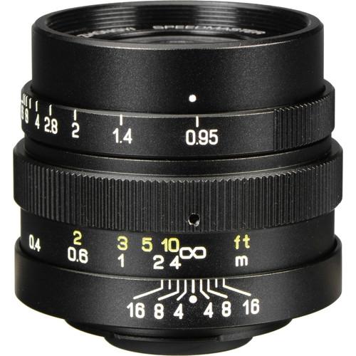 Zhongyi Mitakon Speedmaster 25mm f/0.95 MFT Black