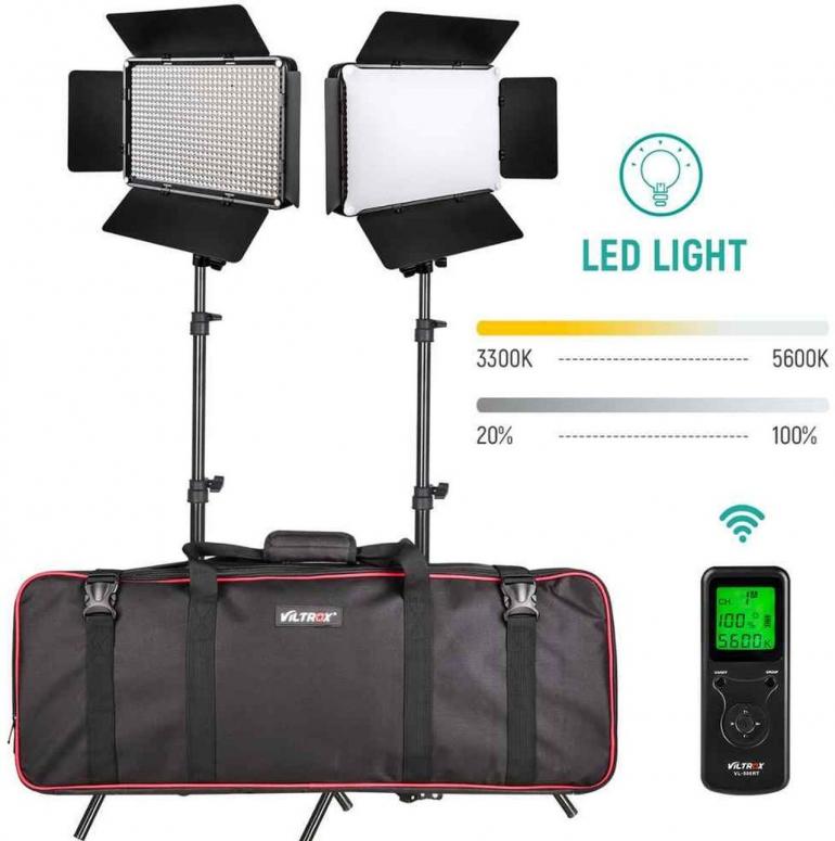 Viltrox VL-D640T LED Light Duo Kit