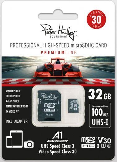Peter Hadley 32GB microSDHC Professional HighSpeed Class10 UHS-I