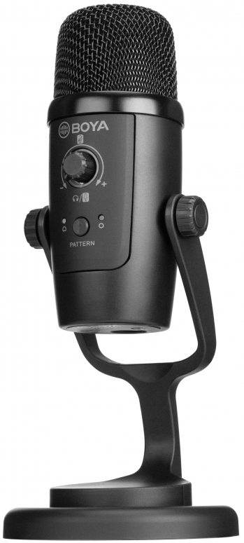Boya BY-PM500 USB-Tischmikrofon für fPC & Android schwarz