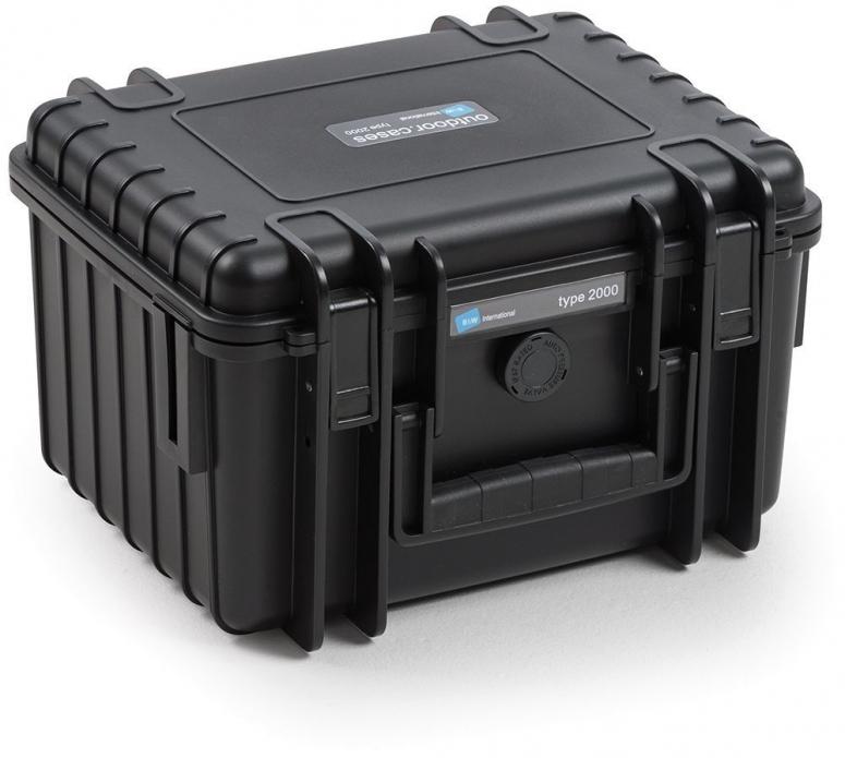 B&W Case Type 2000 schwarz