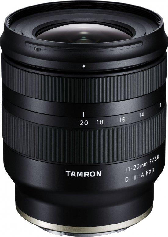 Tamron 11-20mm f2,8 Di III-A RXD für Sony E-Mount
