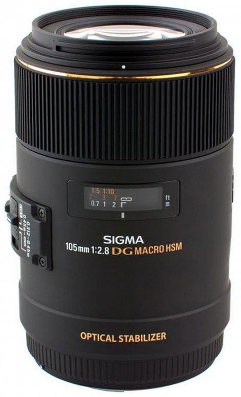 Sigma 105mm 1:2,8 AF-EX Macro DG OS HSM Nikon AF
