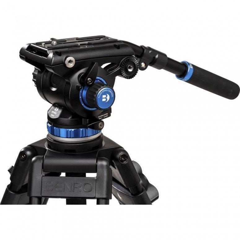 Benro Aero6 Videostativkit Carbon inkl. Videoneiger S6Pro