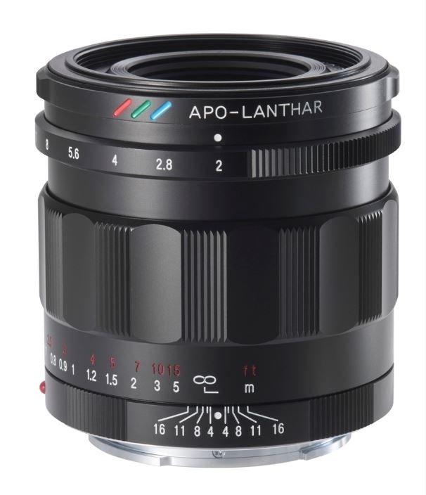 Voigtländer Apo-Lanthar 50mm f2.0 asph. E-mount schwarz