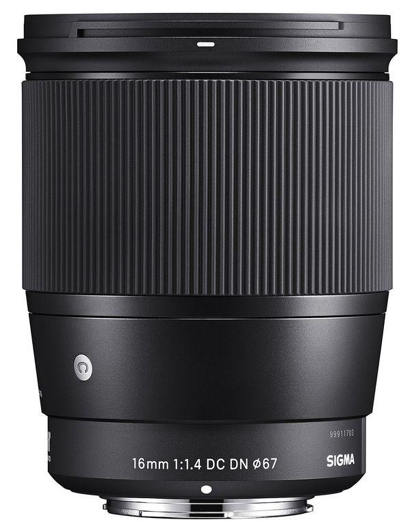 Sigma 16mm f1,4 DC DN Canon EF-M