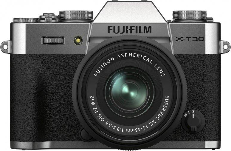 Fujifilm X-T30 II silber + XC 15-45mm