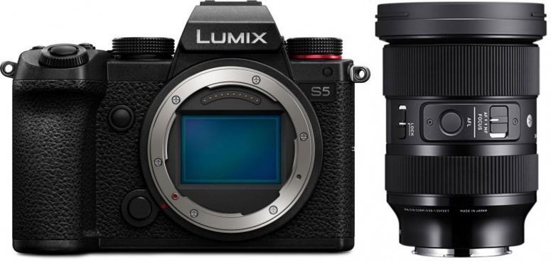 Panasonic Lumix DC-S5 + Sigma 24-70mm f2,8 DG DN (A) L-Mount