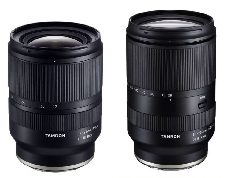 Tamron 17-28mm f2,8 Di III RXD + 28-200mm f2,8-5,6 Di III RXD E-Mount