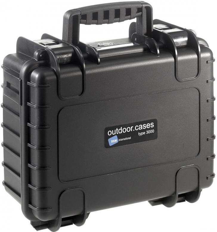 B&W Case Type 3000 schwarz GoPro 9/10