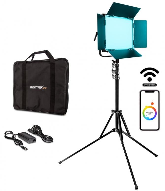 Walimex pro LED Rainbow 100W RGBWW Set 1
