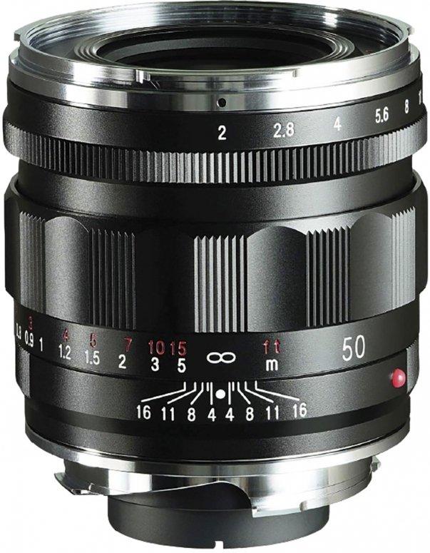 Voigtländer APO-Lanthar 50mm f2,0 asph. VM schwarz