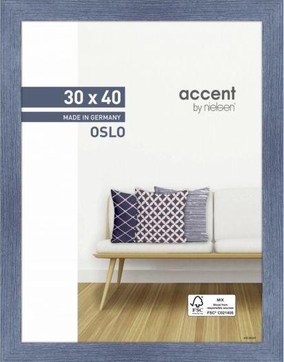 Nielsen Holzrahmen 299295 Oslo 30x40cm blau