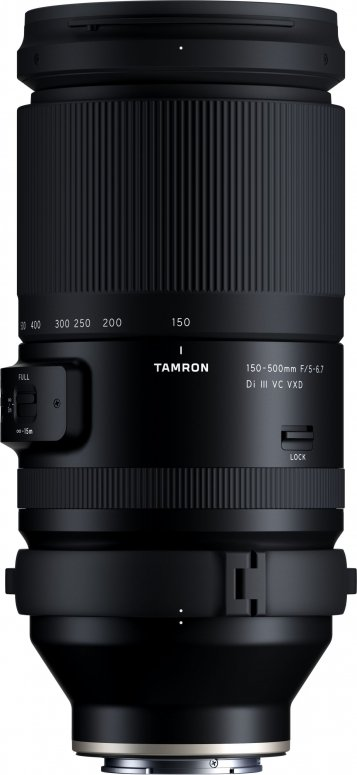 Tamron 150-500mm f5-6,7 Di III VC VXD Sony E-Mount