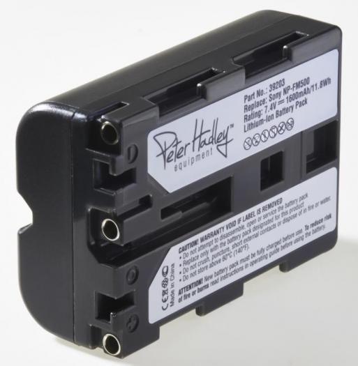 Peter Hadley Akku Sony NP-FM500