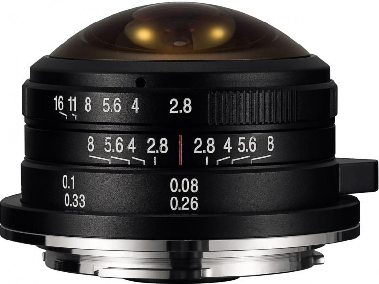 LAOWA 4mm f2,8 Circular Fisheye für MFT