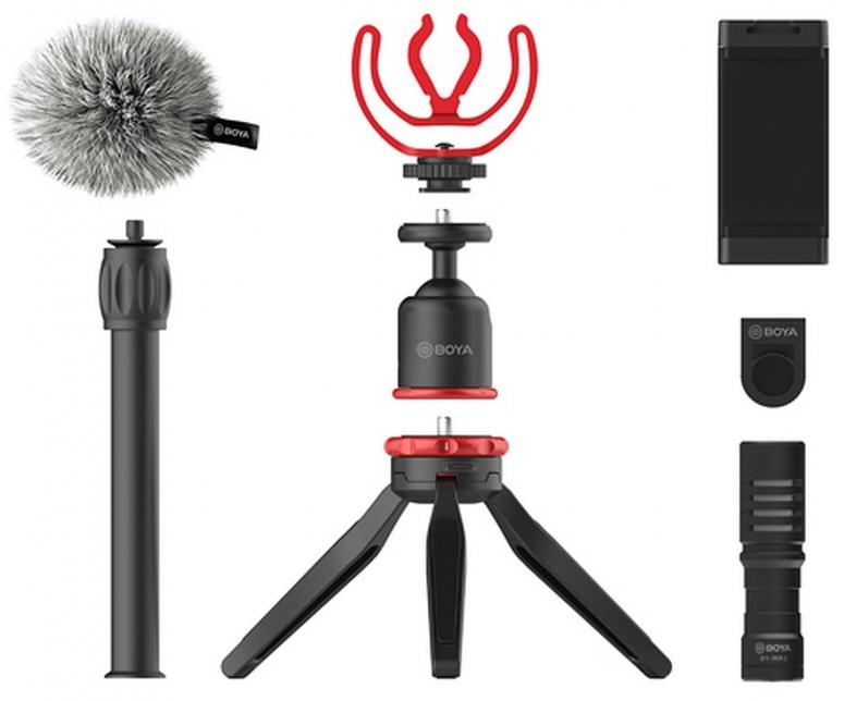 BOYA BY-VG330 Vlogging Kit mit Mikrofon BY-MM1