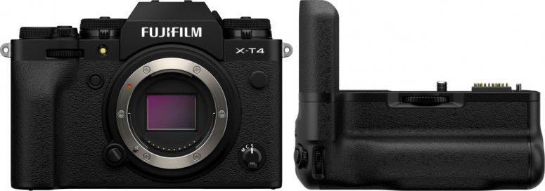 Fujifilm X-T4 Gehäuse schwarz  + VG-XT4