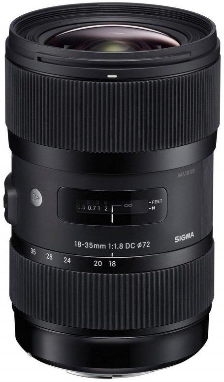 Sigma 18-35mm 1:1,8 DC HSM Nikon AF