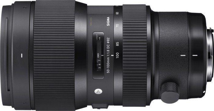 Sigma 50-100mm 1:1,8 DC HSM für Canon